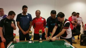 The medallists Open and Plate