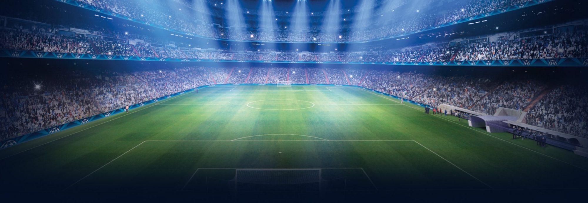 cropped uefa champions league stadium