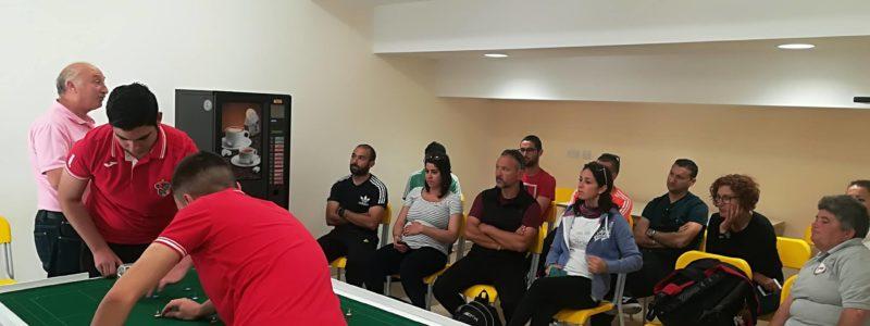 Table football introduced in schools in Malta