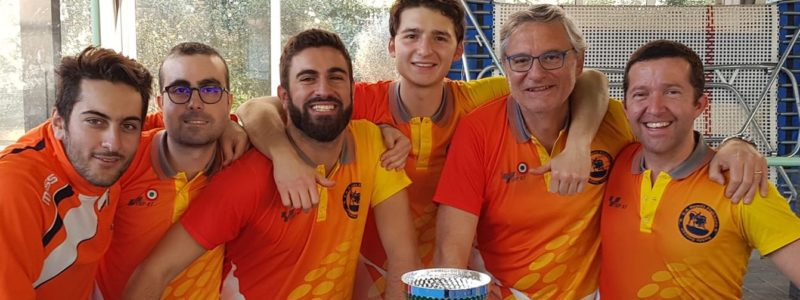 Napoli Fighters claim Team and Open events at the Rome International Open