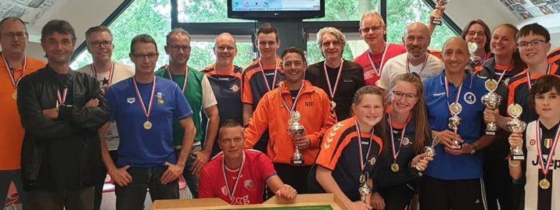 De Haas claims Dutch title