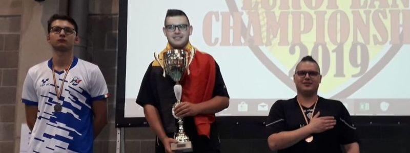 Florian Giaux claims historic European Championship Open title; Five countries share titles (updated)