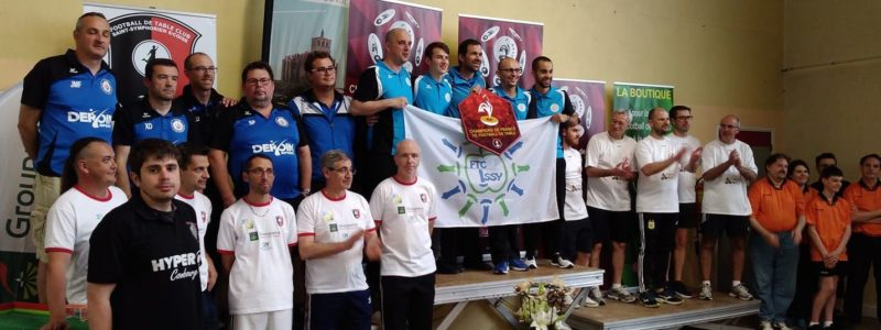 Donval claims French Division 1 title; Ftc Issy-Les Moulineaux takes team event
