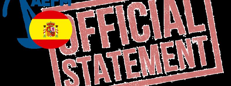 AEFM –  Valencia Open 2020 cancelled