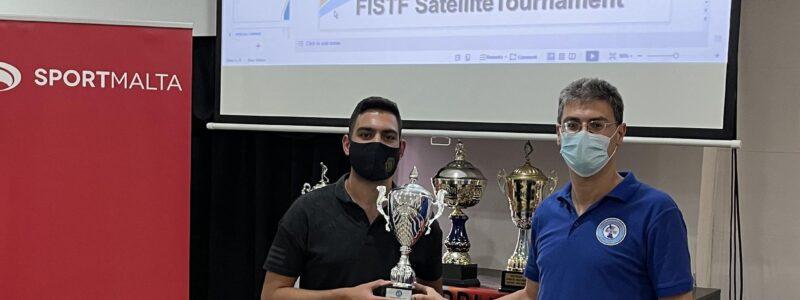 Bonnici claims FISTF Satellite of Malta