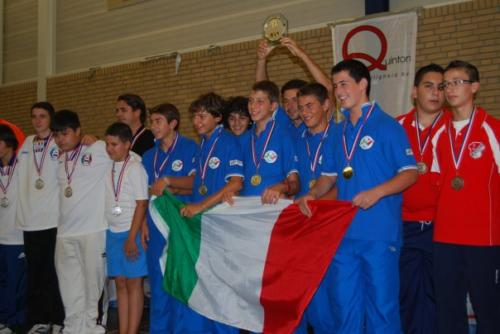 Italy u15 team winners
