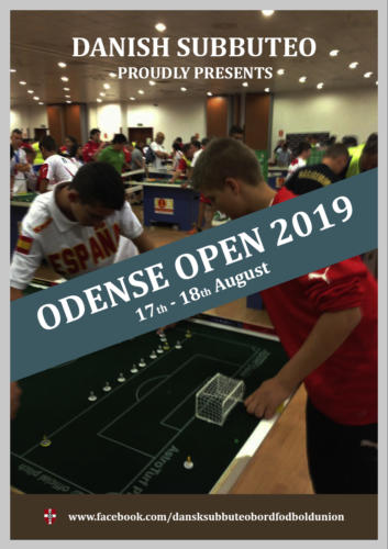 Odense Open 2019 - poster